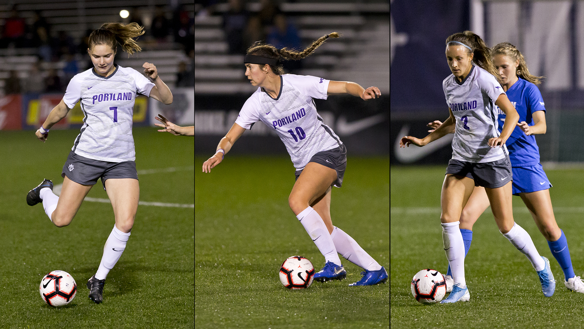 Davidson, Koehler, and Ries Earn All-WCC Honors