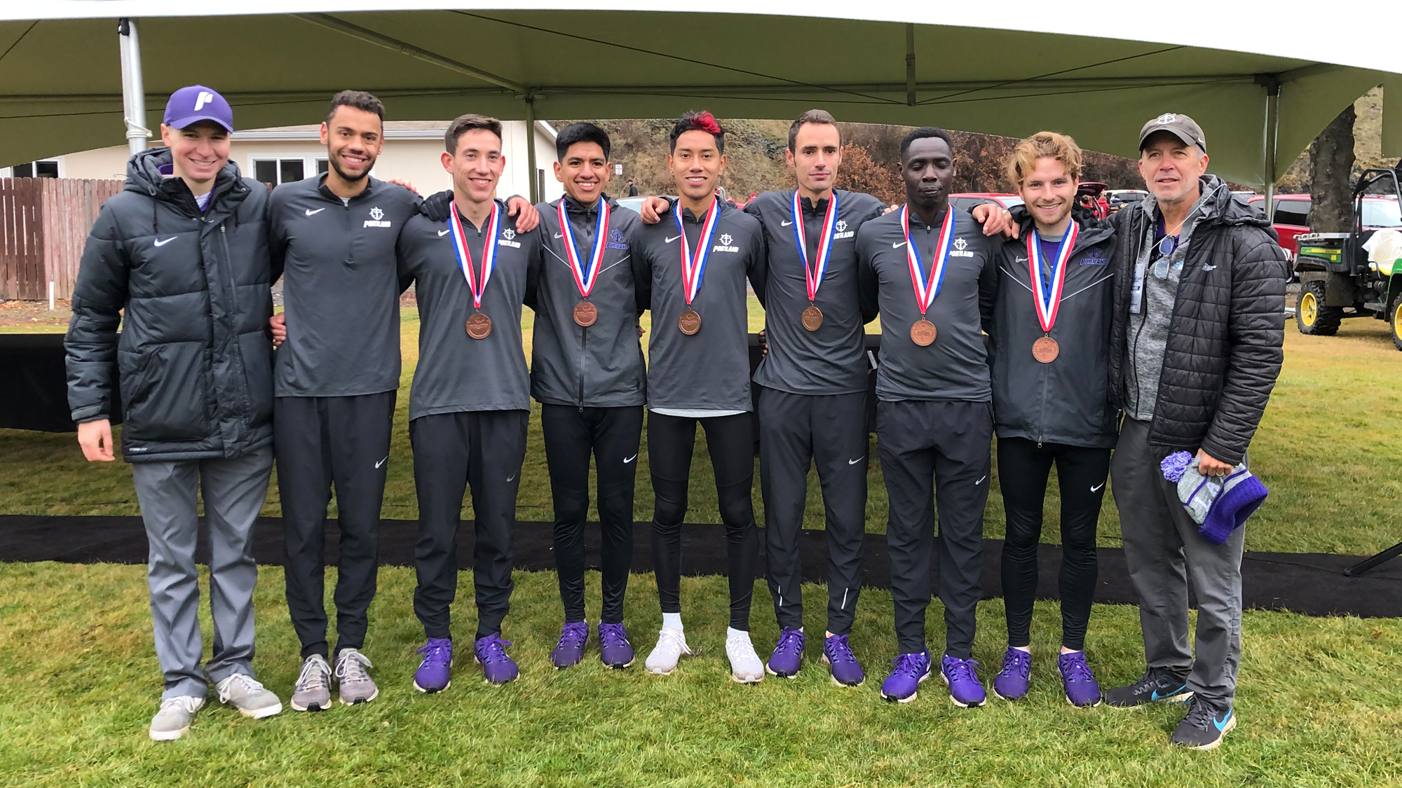 Portland Men Win Third Straight Team Title at NCAA West Regional