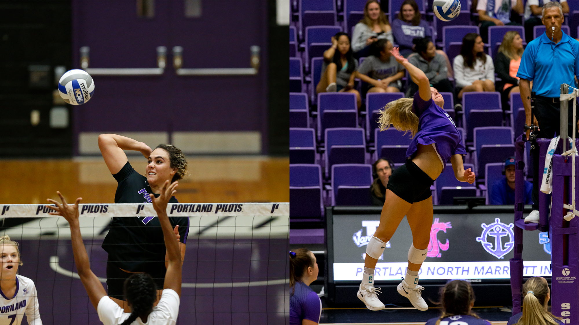 Hoeft, Reich Earn All-WCC Honors