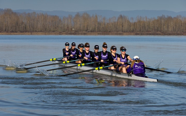 Rowing takes two of three races against Seattle U - University of Portland Athletics